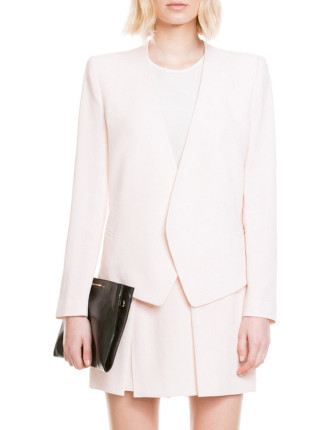 Shell Pink Moulded Jacket