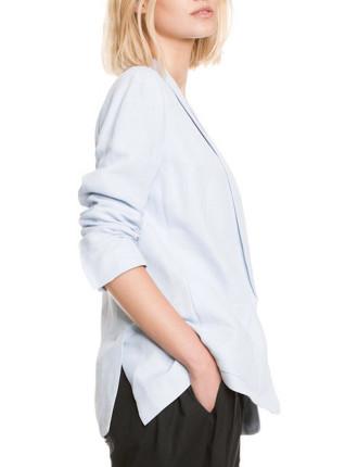 Light Blue Linen Jacket