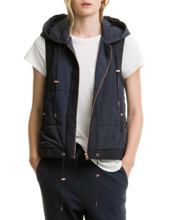Quilt Puffer Vest