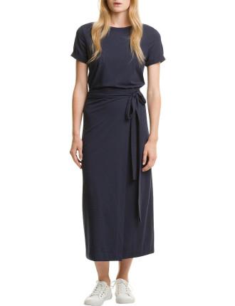 Wrap Jersey Dress
