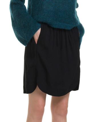 Winter Crepe Skirt