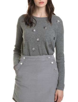 Sequin Coin Knit