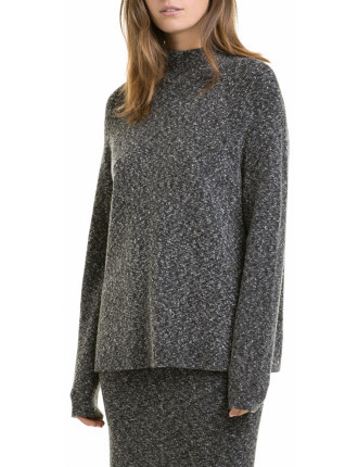 Tweed Knit Pullover