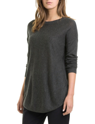 Silk Back Merino Tunic