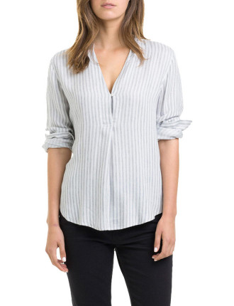 Flannel Stripe Shirt