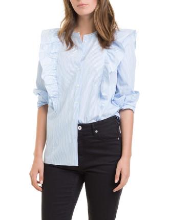 Mini Spot Collar Shirt