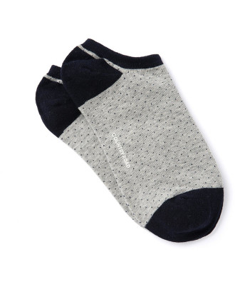 Pin Dot Ankle Socks