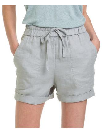 Twill Linen Short