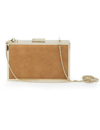 Textured Boxy Clutch