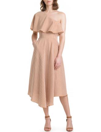 Mini Stripe Maxi Dress
