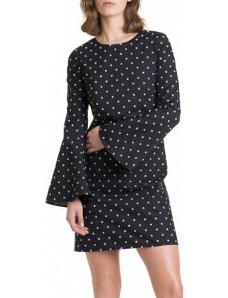 Eyelet Broderie Dress
