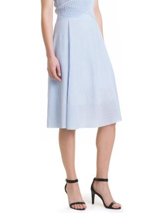 Eyelet Milano Skirt