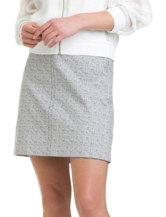 Speckle Mini Skirt