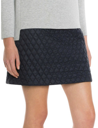 Quilted Nylon Skirt