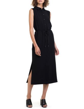 Waist Detail Shirt Dress