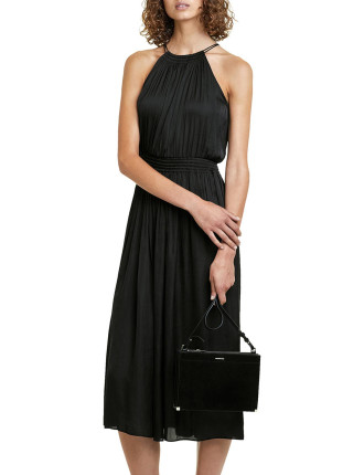 Fluid Elastic Waist Dress