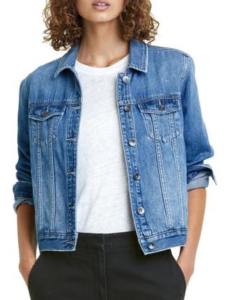 Mid Blue Denim Jacket