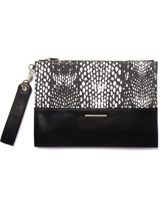 Printed Animal Clutch