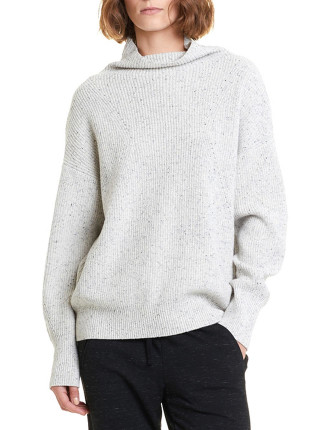 Nep Mock Neck Knit