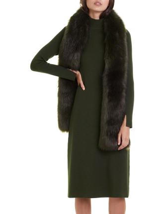 Tuck Rib Knit Dress
