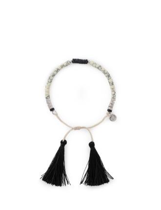 Black Tassel Bracelet