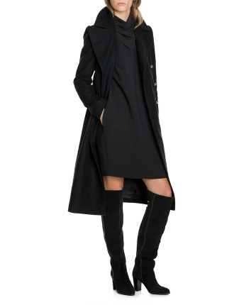 Military Button Coat