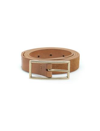 Leather Suede Belt