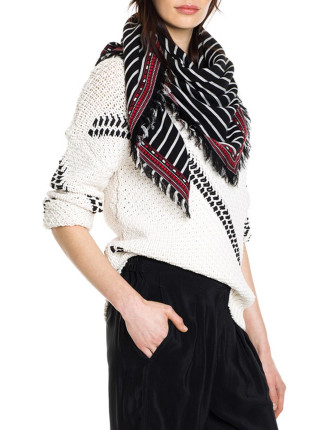 Herringbone Tape Knit