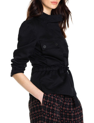 Long Sleeve Utility Pocket Jacket