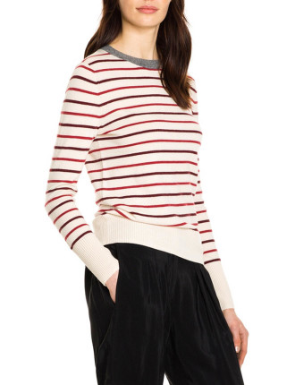 Retro Stripe Knit