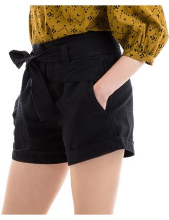 Tie Front Short