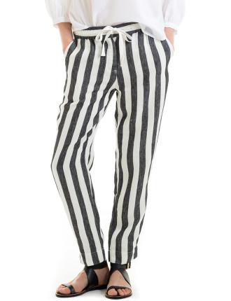 Stripe Tapered Pant