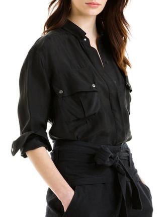 Long Sleeve Parachute Pocket Shirt