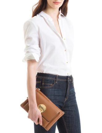 Long Sleeve Button Detail Shirt