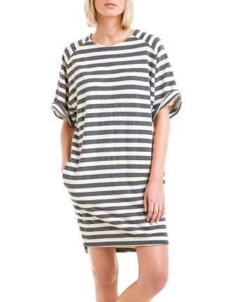 Stripe Sweat Dress