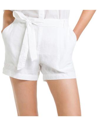 Relaxed Linen Short