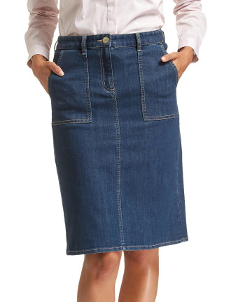 TIGERLILY DENIM SKIRT