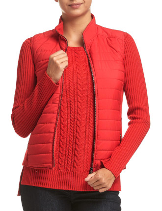PEONY QUILTED VEST
