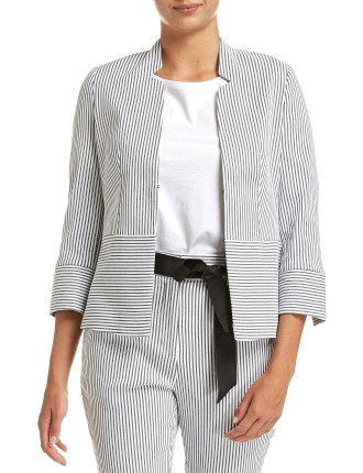 SKIPPER STRIPE BLAZER