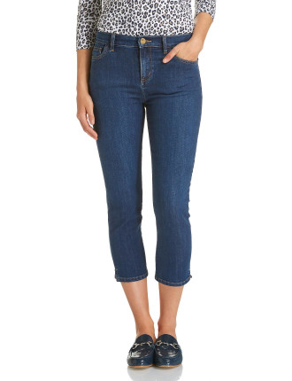 Nikki Straight Crop Jean