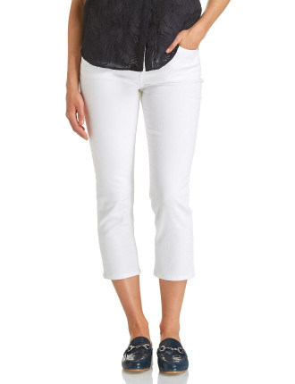 Simone Straight Crop Jean