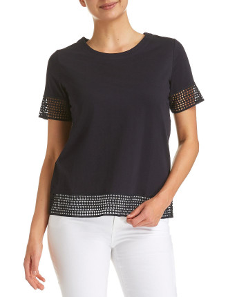 Alice Lace Tee