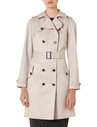 Willow Double Breasted Trench Coat