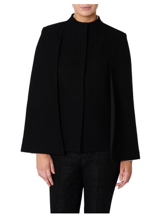 Felicity Felted Wool Cape