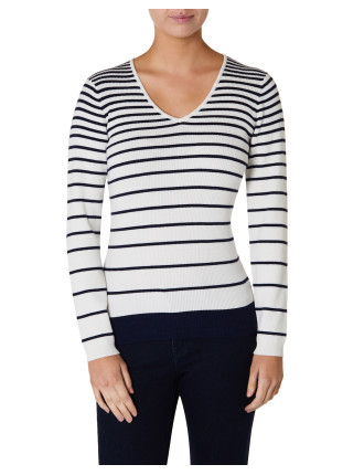 Serena Stripe Jumper