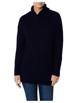 Dylan Roll Neck Jumper