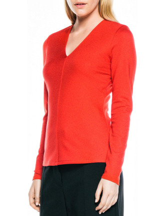 Light Double Knit Long Sleeve Top