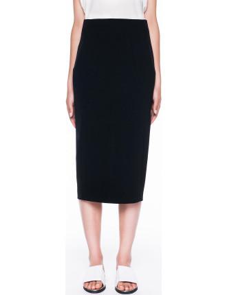 Tech Stretch Hobble Skirt