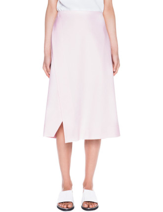 Double Weave Split Skirt