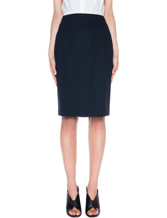 Soft Suiting Pencil Skirt